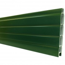 Liniar Plastic Fence 6ft x 12inch Gravel Board - Green