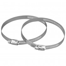 Manrose 50mm to 100mm Round Ducting Flexible Hose Clamp - Metal