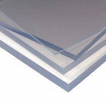 PSD 2mm A5 Size Solid Polycarbonate Plastic Sheet - Clear, 210mm x 148mm
