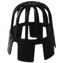 PSD 68mm Round Down Pipe Balloon Guard - Black