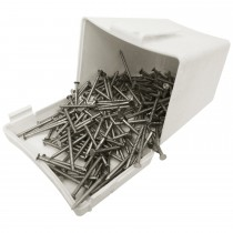 Plastops Cladding Fixing Pins - Metal, 30mm