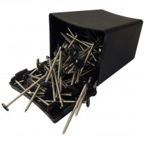 Plastops Plastic Headed Nails - Black, 65mm