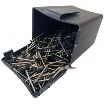 Plastops Plastic Headed Pins - Anthracite Grey, 30mm