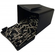 Plastops Plastic Headed Pins - Black, 30mm