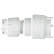PolyFit 22mm to 15mm Push Fit Reducing Coupler - White