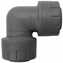 PolyPlumb 10mm Elbow - Grey