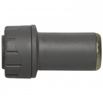 PolyPlumb 15mm to 10mm Socket Reducer - Grey