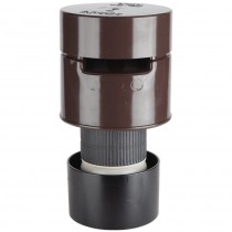 Polypipe 110mm Soil Air Admittance Valve - Brown
