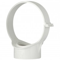 Polypipe 110mm Soil Strap Boss Open Side Fix - White