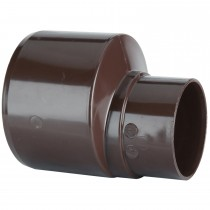 Polypipe 110mm To 68mm Rainwater Reducer - Brown