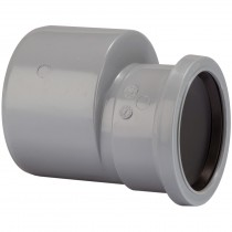 Polypipe 110mm To 82mm Soil Reducer - Grey