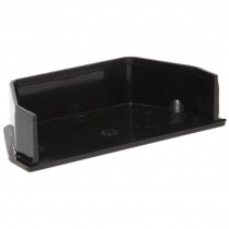 Polypipe 112mm Square Gutter Stop End (Internal) - Black