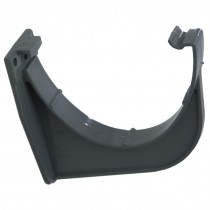 Polypipe 117mm Polyflow Deep Capacity Gutter Fascia Bracket - Anthracite Grey