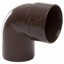 Polypipe 40mm Solvent Weld Waste 92.5 Degree Swivel Bend - Brown