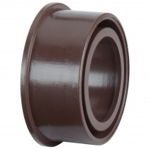 Polypipe 50mm Solvent Soil Boss Adaptor - Brown