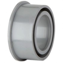 Polypipe 50mm Solvent Soil Boss Adaptor - Grey