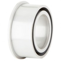 Polypipe 50mm Solvent Soil Boss Adaptor - White