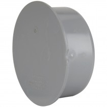 Polypipe 82mm Soil Socket Plug - Grey