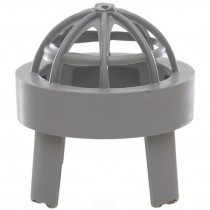 Polypipe 82mm Soil Vent Terminal - Grey