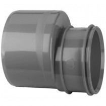 System 2000 110mm to 82mm Solvent Soil Single Socket Reducer - Solvent Grey