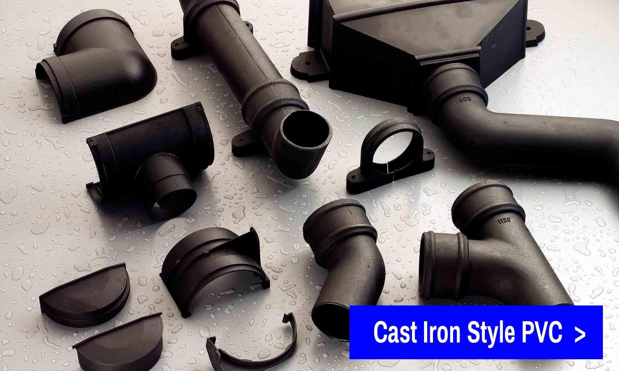 Cast Iron Style PVC